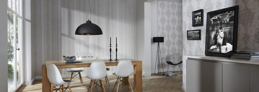 papel de parede para sala de jantar